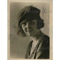 1918 Press Photo Ostrich Pluma Hat