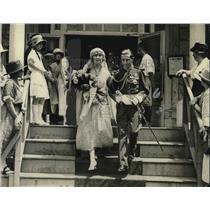 1923 Press Photo Juan Francisco de Cardenas Counselor of the Spanish Embassy