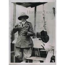 1935 Press Photo General De Bono of Italy