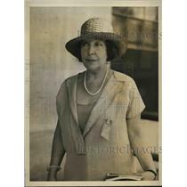 1926 Press Photo Actress Olga Nethersole in Natl. Tuberculosis Convention.