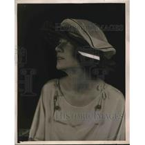 1921 Press Photo Hat Fashion from Joseph