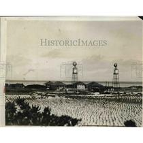 1927 Press Photo Pride of Detroit at Sand Island