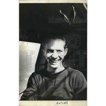 1939 Press Photo Russ Morris Bob McDaniel Pilot Takes Photo Of Self In Flight