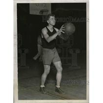 1929 Press Photo University of Chicago Basketball Forward Paul Stephenson