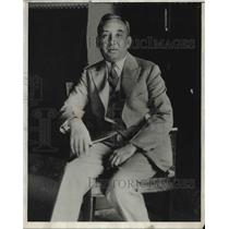 1930 Press Photo Frank Purnell President Youngstown Sheet And Lube Company