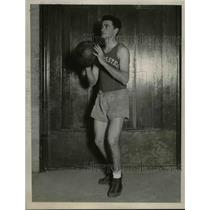 1927 Press Photo Northwestern University Basketball Guard Frank Marshall