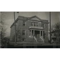 1926 Press Photo U.S. Indian Agents Office, Pawhuska, Oklahoma - nex05003
