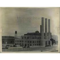 1934 Press Photo LaGuardia New York Airport Incinerator
