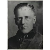 1931 Press Photo Norman Potter crashed in United Air Lines Airmail Plane