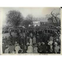 1932 Press Photo Hunger marchers entering the Capitol