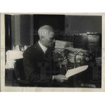 1923 Press Photo S. B. Stone, Bureau of Mines