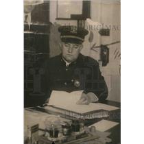 1922 Press Photo Harry O. Honeck Warden at City Prison Brooklyn NY