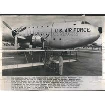 1959 Press Photo Comparison's Sake Major Harlan Bill - RRS76537