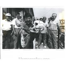 1988 Press Photo John Dudley Bloomingdale Abbots Magic - RRS28135