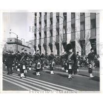 1900's Press Photo Pipe band - RRS09675