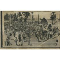 1900's Press Photo Miami Beach Demonstration - RRS11181