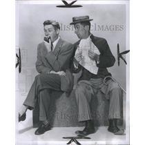 14954 Press Photo Ben Blue Alan Young Comedian Actor - RRS30115