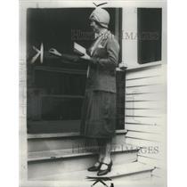 1930 Press Photo Unemployment Highland Park Michigan - RRS66281