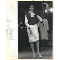 1984 Press Photo Fashion Clothes Proportion Jane Powell - RRS64909