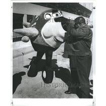 1988 Press Photo curiosity Abraham Bougard - RRS56447