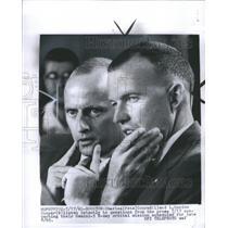 1965 Press Photo Charles Conrad L Gordon Cooper Gemini - RRS71475