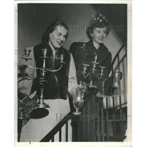 1913 Press Photo Martha Schueler Mary Seymour Adams - RRS70265