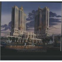 Press Photo Artist Rendering Of MGM Grand Hotel Casino - RRS83859