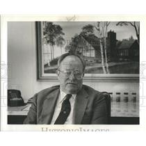 1981 Press Photo Person Detroit Editor William Meese - RRS17855