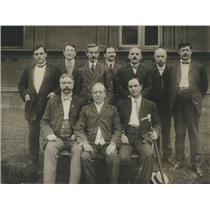 1917 Press Photo Executive Council of the Amer Fed Labo - RRS09611