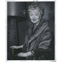 1957 Press Photo Fay Okell Bainter American Actress Los - RRS30123
