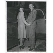 1940 Press Photo Robert Preston Weds Catherine Craig - RRS61611