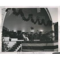 1937 Press Photo Editor Detroit Gilmore Sunrise Service - RRS99433
