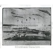 1943 Press Photo Baltimore On The Chesapeake - RRS09833