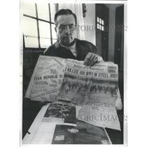 1976 Press Photo Steve Borozan of Republic Steel - RRS37565