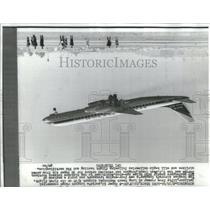 1966 Press Photo Douglas Aircraft Company - RRS85625