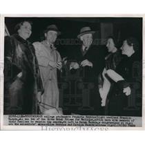 1954 Press Photo Professors Frederic Robbins and Franklin Enders