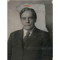 1921 Press Photo Representative Richard Yates Ex Governor