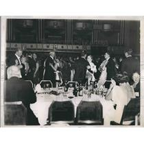 1935 Press Photo General View Of Dancing At The Horse Show Ball At Hotel
