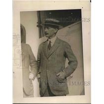 1918 Press Photo Ernest Mallet
