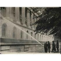 1924 Press Photo Fire department cleaning of senate building - nea86147