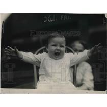 1920 Press Photo World Series baby at Redland Field Pat Moran Needham