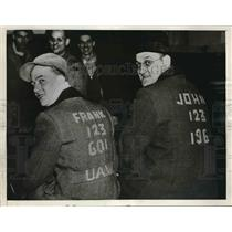 1927 Press Photo Workers in the middle of striking