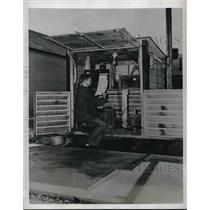 1950 Press Photo Air Monitoring Station, Oak Ridge National Laboratory