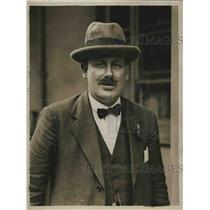 1925 Press Photo Mr J. Marchbanks, sec of railwaymen union