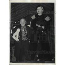 1936 Press Photo Cuban Ambassador Guillermo Patterson and Daughter Olga