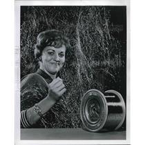 Press Photo Judy Darrow Secretary Goodyear Tire & Rubber Co.