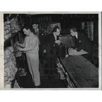 1940 Press Photo Cecil Mathews of Columbia South Carolina