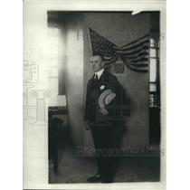 1918 Press Photo Detective Sergeant Martin S. Owens