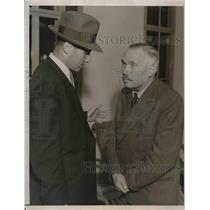 1940 Press Photo Dr. Gerhardt Westrick Mysterious Nazi Trade Emissary