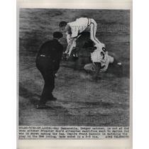 1930 Press Photo St. Louis Dodger catcher, Roy Campanella